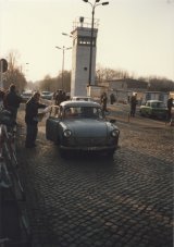 Opening of a border crossing between Teltow and West Berlin