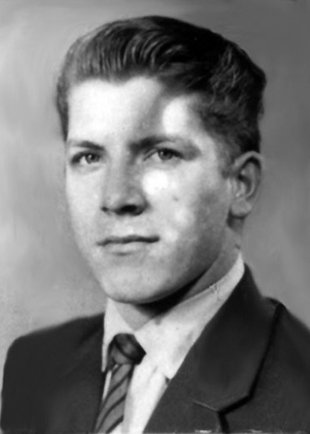 Hans Räwel: born on Dec. 12, 1941, shot dead in the Berlin border waters on Jan. 1, 1963 while trying to escape (photo: ca. 1962)