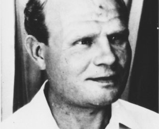 Heinz Schmidt, born on October 26, 1919 in Berlin, shot dead on August 29, 1966 in the Berlin border waters (date of photo not known)