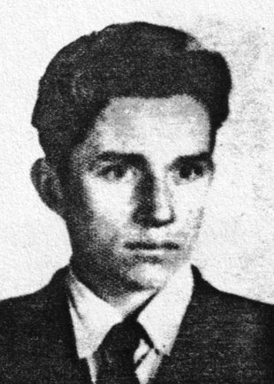 Franciszek Piesik: born on Nov. 23, 1942, drowned in the Berlin border waters on Oct. 17, 1967 while trying to escape (date of photo not known)