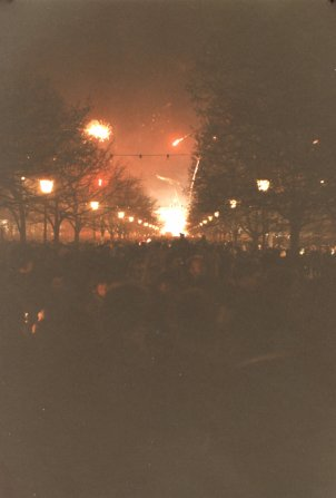 New Year's Eve 1989: Unter den Linden
