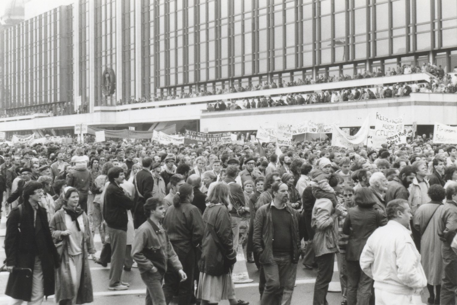 Kundgebung in Ost-Berlin, 4. November 1989