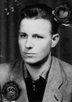 Klaus Schröter: born on February 21, 1940, shot and drowned in the Berlin border waters on Nov. 4, 1963 while trying to escape (date of photo not known)