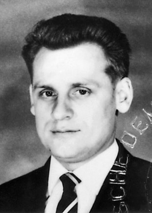 Walter Heike: born on Sept. 20, 1934, shot dead at the Berlin Wall on June 22, 1964 while trying to escape (date of photo not known)