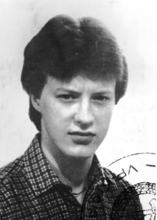 Michael Schmidt: born on Oct. 20, 1964, shot dead at the Berlin Wall on Dec 1, 1984 while trying to escape (date of photo not known)
