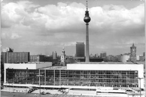 Palast der Republik in Ost-Berlin; Aufnahme 23.April 1976