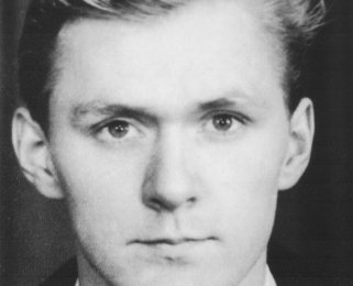 Norbert Wolscht: born on October 27, 1943, drowned in the Berlin border waters on July 28, 1964 while trying to escape (date of photo not known)