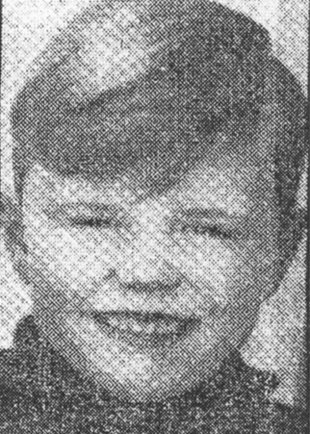 Andreas Senk: born in 1960, drowned in the Berlin border waters on Sept. 13, 1966