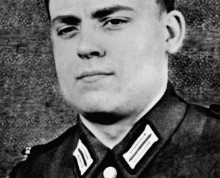 Siegfried Widera: born on Feb. 12, 1941, border solder knocked out at the Berlin Wall by fugitives on Aug. 23, 1963 and died from his injuries on Sept. 8, 1963 (date of photo not known)