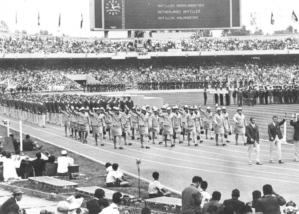 Olympic Games in Mexico, 1968