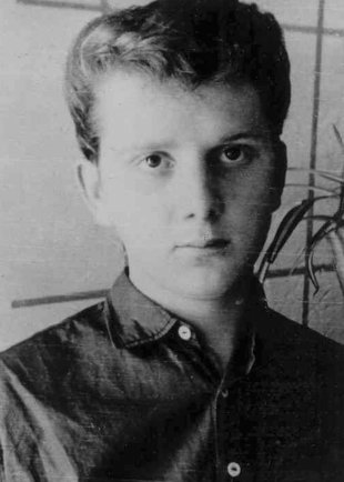 Hans-Dieter Wesa: born on Jan. 10, 1943, shot dead at the Berlin Wall on Aug. 23, 1962 while trying to escape (date of photo not known)