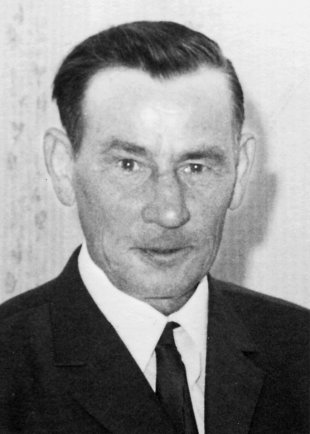 Johannes Sprenger: born on Dec. 3, 1905, shot dead at the Berlin Wall on May 10, 1974 (photo: 1970)