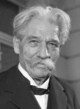 Albert Schweitzer, 11. November 1955