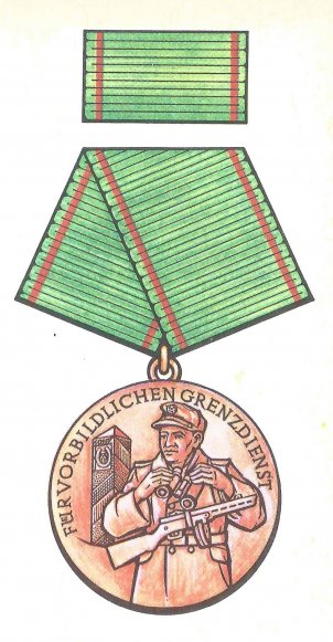 Medal of the GDR Border Troops (1977)
