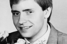 Lutz Schmidt: born on July 8, 1962, shot dead at the Berlin Wall on February 12, 1987 while trying to escape (photo: Anfang der 1980er Jahre)