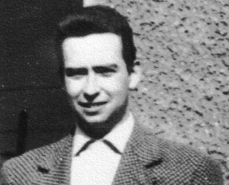 Lutz Haberlandt: born on April 29, 1938, shot dead at the Berlin Wall on May 27, 1962 while trying to escape (photo: ca. 1960)
