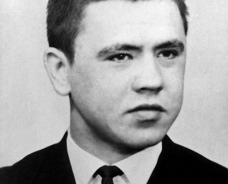 Willi Marzahn, born on June 3, 1944, shot dead or suicide at the Berlin Wall on March 19, 1966 [date of photo not known]