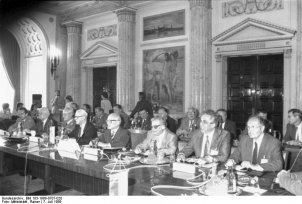Warsaw Pact conference in Bucharest