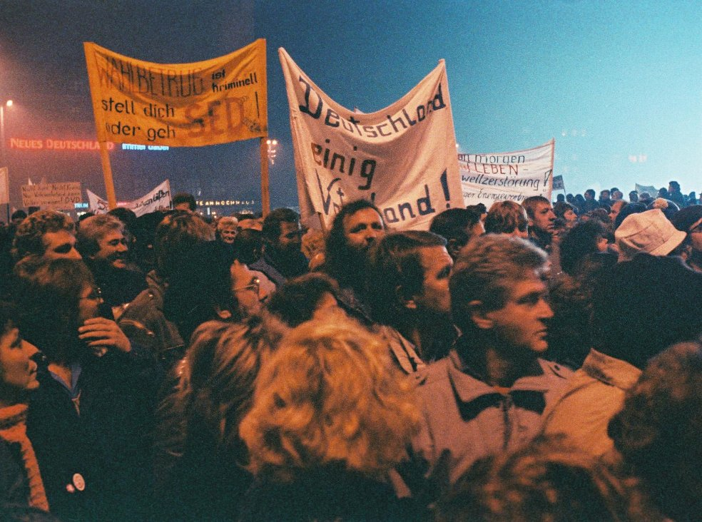 """Monday demonstration"" in Leipzig"