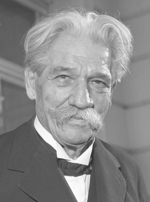 Albert Schweitzer, 11 November 1955