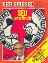 "The office of the magazine ""Der Spiegel"" in East Berlin is closed after the publication of  the issue 2/1978"