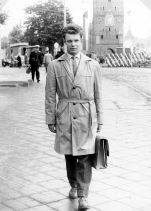 Egon Schultz, shot dead at the Berlin Wall: Teaching in Rostock before he was enlisted into the border troops (photo: um 1963)