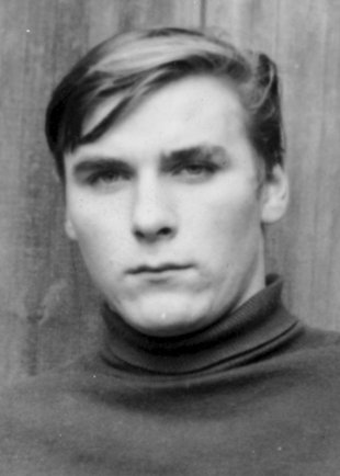 Willi Born: born on July 29, 1950, suicide at the Berlin Wall on July 7, 1970 after he was caught trying to escape (photo: ca. 1968)