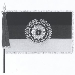 Award of the flag for quartered units to the 1st Border Brigade
