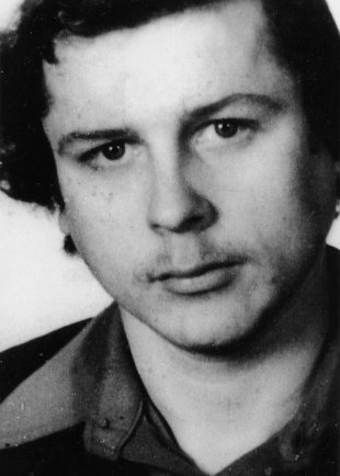 Ulrich Steinhauer: born on March 13, 1956, shot dead at the Berlin Wall on Nov. 4, 1980 while on duty as a border soldier (date of photo not known)