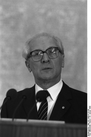 Erich Honecker, 18 January 1989