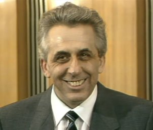 SED General Secretary Egon Krenz, 9 November 1989