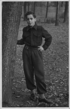 Günter Litfin, shot dead in the Berlin border waters: age 14 in photo (photo: 1951)