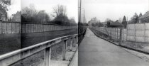 Marienetta Jirkowsky, shot dead at the Berlin Wall: Panoramic photo of the escape site between Hohen Neuendorf and Berlin-Reinickendorf [MfS photo: Nov. 22, 1980]